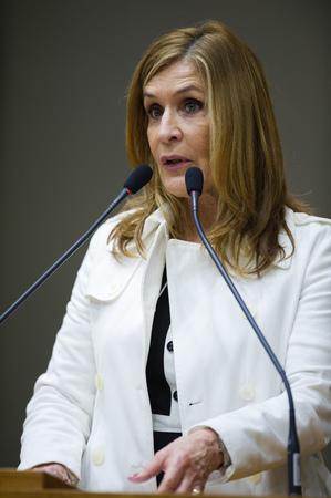 Vereadora Mônica Leal.
