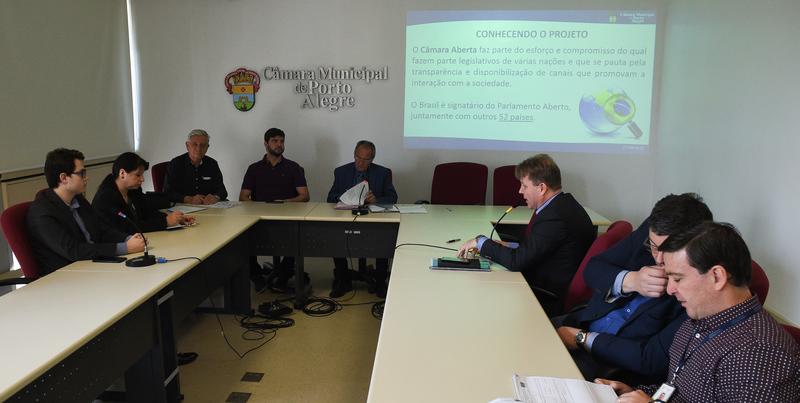 As diretrizes para apresentação da prestação de contas da Camara.
