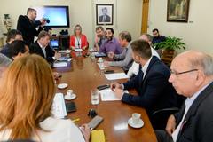 Reunião da Mesa Diretora.