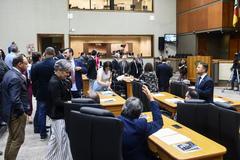 Plenário Otávio Rocha na tarde desta quarta-feira