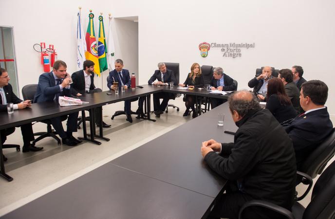 Reunião de Líderes. (Foto: Leonardo Contursi/CMPA)
