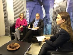 Vereadora Lourdes na TV Câmara