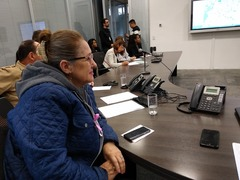 Vereadora Lourdes Sprenger no CEIC