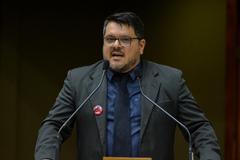 Marranghello detalhou na tribuna as razões da greve inciada em 24 de setembro