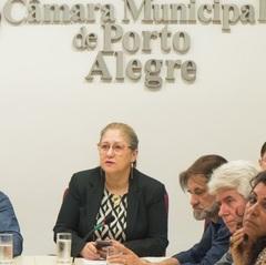 Vereadora Lourdes na Cosmam