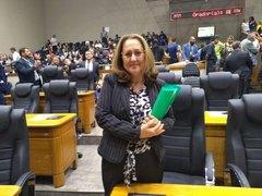 Vereadora em Plenário