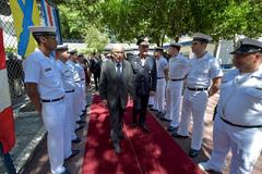 Vereador Pujol foi recepcionado por autoridades da Marinha do Brasil