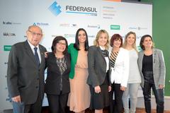 Presidente em exercício, Vereador Reginaldo Pujol (DEM), prestigiou palestras sobre mulheres empreendedoras