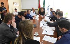 Reunião da Mesa Diretora da Câmara Municipal
