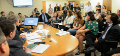 Comissão se reune com o TRT-4 e demais representantes para debater sobre a situação do IMESF.