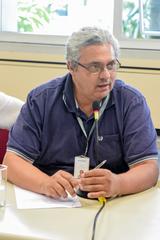 Comissão recebe os servidores da PROCEMPA. Com a fala, o Sr. Carlos Osório.