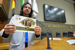Ministro André Luis Lopes da Silva divulga peregrinação pelo jubileu