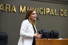 Vereadora Mônica Leal