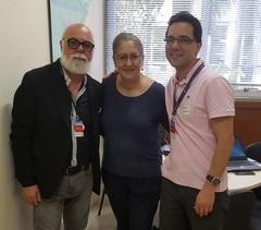 Vereadora Lourdes Sprenger recebeu representantes Casa do Menino Jesus de Praga