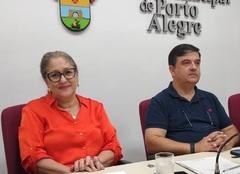 Vereadora Lourdes Sprenger, presidente da Cosmam, indicou a pauta da reunião