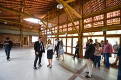 CTG tem amplo salão e será administrado pela patronagem eleita pelos associados