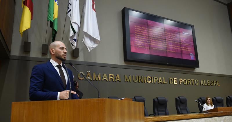 Pacote de projetos proposto pelo Governador Eduardo Leite e o impacto que podera Gerar em Porto Alegre.Como Orador o Sr. Luciano Barros Zini.