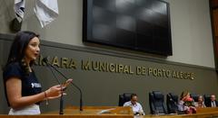 Renata de Medeiros, nova Cidadã de Porto Alegre