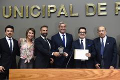 Sessão Solene de outorga do Troféu Câmara Municipal de Porto Alegre ao Grupo EPAVI - Empresa Porto Alegrense de Vigilância.