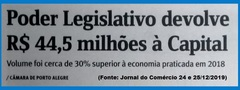 Economia no Gabinete da Vereadora Lourdes