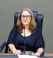 Vereadora Lourdes Sprenger eleita a 2ª Vice Presidente da Câmara em 2020