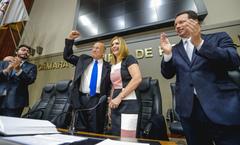 Vereador Reginaldo Pujol sucede a vereadora Mônica Leal no comando do Legislativo da capital