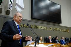Vereador Pujol assumiu a presidência da Câmara Municipal nesta quinta-feira