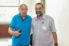 Reginaldo Pujol e Antônio Hohlfeldt (d) foram colegas na Câmara Municipal