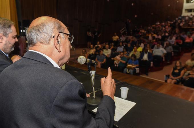 Presidente Reginaldo Pujol prestigia Cerimônia de Diplomação dos Candidatos Eleitos nas eleições dos Conselhos Tutelares de 2019 de Porto alegre para a Gestão 2020-2023.