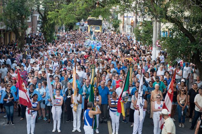 Presidente Reginaldo Pujol participa da Abertura dos Festejos Oficiais da 145ª Festa de Nossa Senhora dos Navegantes.