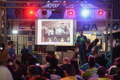 Presidente Reginaldo Pujol participa do Ato de Lançamento do Programa Oficinas do Carnaval.