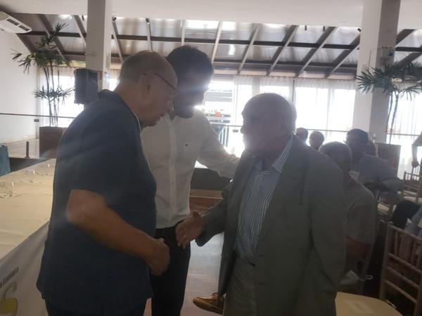 """Participação do presidente Reginaldo Pujol no Fórum"""" Desenvolvimento Sustentável - Oportunidades e Financiamentos"""" - Projeto Rio Grande Sustentável, na Sociedade dos Amigos do Balneário de Atlântida (Saba). (Foto: )"""