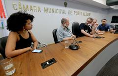 Vereadores da Comissão estiveram reunidos na manhã desta terça-feira