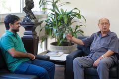 Marinho e Pujol em encontro nesta tarde