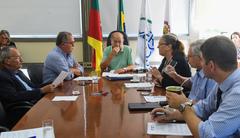 Vereadores e diretores da Câmara realizaram nesta manhã primeira reunião da Mesa Diretora de 2020