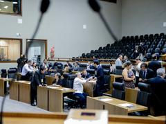 Sessão ordinária desta quinta-feira no Plenário Otávio Rocha