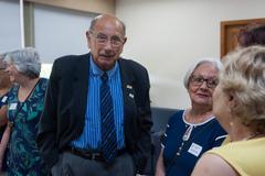 Presidente Reginaldo Pujol recebe a visita do Grupo de Terapia Comunitária Integrativa Envelhescência.