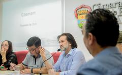 Comissão discute pautas relacionadas ao atendimento da saúde em Porto Alegre. Com a fala, o vereador Aldacir Oliboni.