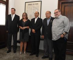 Presidente e vice do Legislativo foram recebidos pelo presidente do Correio do Povo, Sidney Costa, e pelo diretor de Redação, Telmo Flor