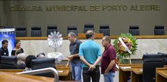 Velório da ex-vereadora Ana Godoy.