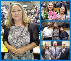 Vereadora Lourdes compõe a Mesa Diretora da Câmara