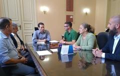 Vereadora Lourdes no Paço Municipal