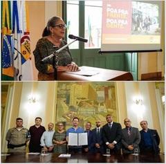 Vereadora Lourdes representou a Câmara no Paço Municipal