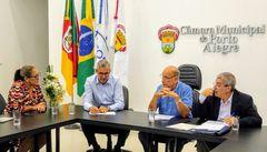 Vereadora Lourdes na Reunião de Líderes do dia 12/02/20