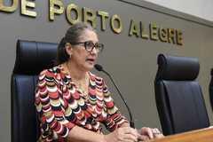 Vereadora Lourdes na Procuradoria Especial da Mulher em 2020