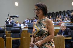 Representante do bairro prestou juramento no Plenário Otávio Rocha