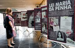 Lei Maria da Penha, exposição promovida pelo gabinete da Ver. Comandante Nádia