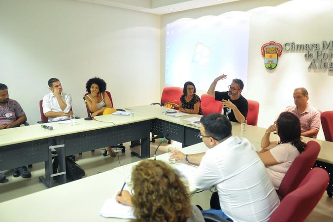 Comissão debate a situação da Ocupação Recanto da Alegria, localizada no Bairro Humaitá.