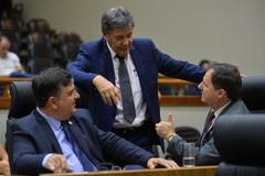 Vereadores no Plenário Otávio Rocha na tarde desta quarta-feira