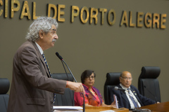 Rodrigues, da Associação cinemateca Capitólio, lembrou histórico de lutas na cultura porto-alegrense